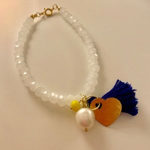 Handmade bracelets by Lux Jewlery